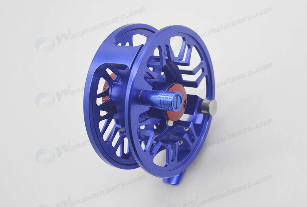 CNC Design All Anodized Aluminium Fly Fishing Reel WRF58